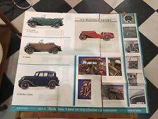 OPUSCOLO 1934 BALILLA FIAT AUTOMOBILI BROCHURE CARS