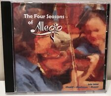 The Four Seasons of Allegro Chamber Orchestra of Lancaster July 2005 CD CMD1389