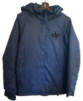 BURTON Boys Navy DryRide Amped JK Ski Warm Jacket Chittagong Kids Large $185