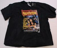 Boohoo Men's Pulp Fiction Oversized Washed License Tee TM8 Black Large NWT