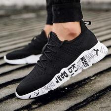 Мужские туфли фитнес дышащие вязаные башмачки повседневные спортивные кроссовки