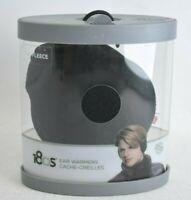 180S One Size Black Adjustable Tec Fleece Ear Warmers