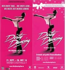 Musical Flyer Set: DIRTY DANCING - WIEN & DEUTSCHLAND-TOUR