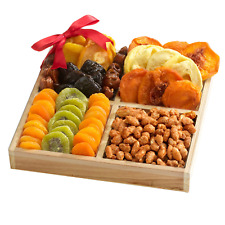Broadway Basketeers Premium Dried Fruit Assortment Gift Tray