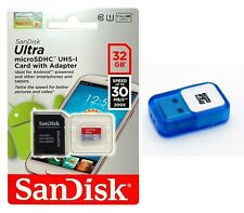 SanDisk 32GB ULTRA Micro SD/Micro SDHC/TF Flash Memory Card with USB Reader 32G