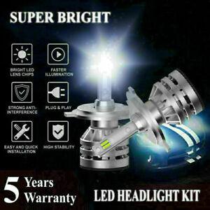 H4 9003 HB2 2000W 300000LM CSP LED Headlight Bulbs Conversion Kit High-Low 6000K