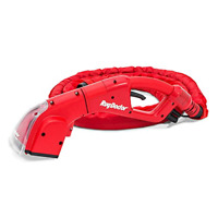 Motorized Upholstery Tool Red Makes Cleaning Easy Dirt Grime Stains Spills Oils