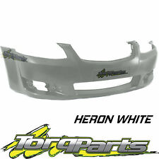 REPLACEMENT FRONT BAR COVER WHITE SUIT VE OMEGA SERIES 2 COMMODORE HOLDEN BUMPER