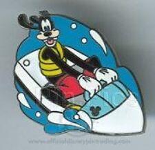 Disney Pin: WDW Cast Lanyard Collection 4 Recreation (Goofy Watercraft)