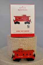Hallmark - Lionel 6017 Caboose - Scale Lionel Trains - Ornament