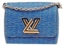 Louis Vuitton Twist MM Epi Denim Leather