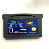 HOT WHEELS VELOCITY WORLD RACE GAMEBOY ADVANCE GAME GBA - AUTHENTIC