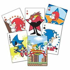NEW Playing Cards * Sonic the Hedgehog * Anime Manga Art Sealed Game Collectible