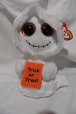 "Ty Beanie Boos MIST 6"" Halloween ghost plush NWT"