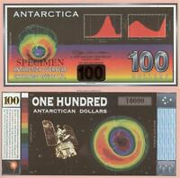 ANTARTICAN 100 DOLLAR BILL GLOSSY POSTER PICTURE PHOTO money currency one 322
