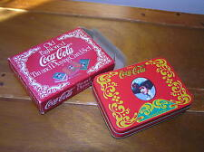 Vintage Reproduction Coca-Cola Advertising Playing Cards w Victorian Lady Head