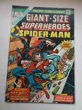Marvel: Giant Size Super-Heroes #1, Spider-Man/Morbius/Man-Wo lf, 1974, Vf+ (8.5)