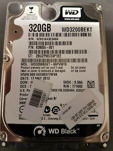 """Western Digital Black 320 GB Laptop HDD 2.5"""""""
