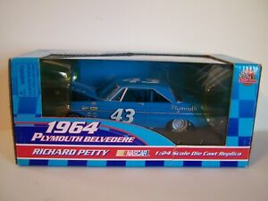 "Racing Champions "" Richard Petty "" 1964 Plymouth #43 NASCAR in 1/24th scale."