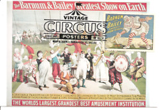 Barnum and Bailey Clown Circus Poster FDC USA Maximum Card Scott #4898