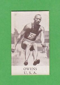 1936 Swedish alfa Berlin Olympics #43 Jesse Owens Long jump