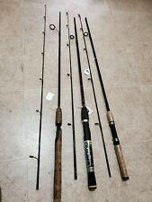 Lot of 3 Light/Med-Light Spinning Rods Mitchell Bass Pro Shop Rhino