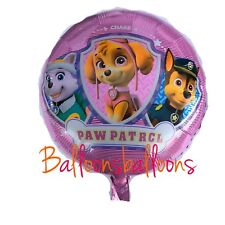 """Paw Patrol Pink Skye Everest Chase 18"""" Foil Balloon Helium Party Birthday"""