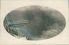 More details for original photo royal navy battleship hms ramillies firing broadside 1929 unique