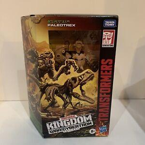Transformers Generations Kingdom WFC-K7 PALEOTREX Deluxe 5in Figure IN STOCK