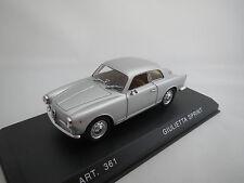"DetailCars  Alfa  Romeo  Giulietta  Sprint  Coupè  ""1960""  (silber)  1:43  OVP !"