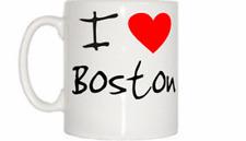 I LOVE Coeur Tasse de Boston