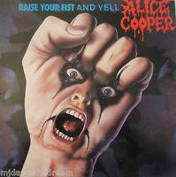 ALICE COOPER - Raise Your Fist ~ VINYL LP