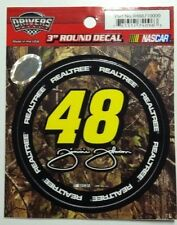 "# 48 Jimmie Johnson Camo 3"" Racing Decal Sticker Realtree Camouflage Nascar 2018"