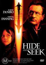 HIDE AND SEEK DVD=ROBERT DeNIRO=REGION 4 AUSTRALIAN RELEASE=NEW AND SEALED