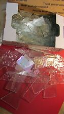 CLEAR Mixed Scrap Glass TWO Pounds for Mosaic or Small Sun Catcher