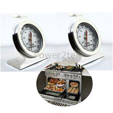 2x de dietrich thermomètre de four en acier inoxydable pour four, cuisinière de température neuf