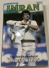 IMRAN KHAN CRICKET SIGNED AUTOBIOGRAPHY PAKISTAN ALL ROUND VEIW BUY AUTHENTIC