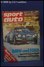 Sport Auto 1/74 Zakspeed Escort GS BMW Käfer + Poster