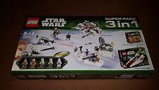 Lego Star Wars 66449 Super Pack 3 in 1, 75014 + 75000 + 75003