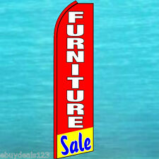Furniture Sale Swooper Flag Tall Curved Flutter Feather Banner Advertising Sign