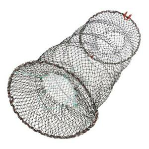 Fishing Net Cage   Crayfish Lobster Shrimp Live Baits Trap Net 25x45cm