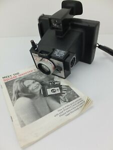 Vintage POLAROID Square Shooter 2 Land Camera with Manual