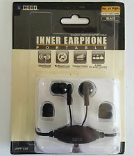 Hori inner Ear Earphones Headset for Sony PSP 1000 - 3000 System Volume control