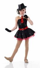 Christmas Rockette Jazz Dance Costume Dress Red Adult XL