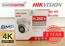 HIKVISION DARKFIGHTER 8MP DS-2CD2385G1-I Turret IP POE Camera 4mm IR AU Stock