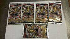 Yu-Gi-Oh-Lot of 5 Hidden Arsenal 6 Booster Packs Omega XYZ 1st Edition