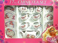 TEA COFFEE _BARBIE DOLL VTG...CHINA TEA SET MINT BOX 1992 DOLLHOUSE MINIATURE TO