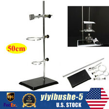 50cm Lab Support Stand Kit Withclip Support Ring Physicschemistry Experiment Tool