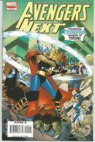 Avengers Next #2 : (1st App Thena Thorsdóttir ) January 2007 : Marvel Comics