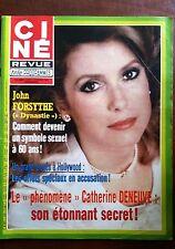 Ciné Télé Revue 2/2/1984; John Forsythe/ C. Deneuve/ Accusation effets spéciaux